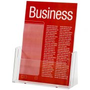 ESSELTE BROCHURE HOLDER A4 SINGLE TIER