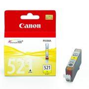 CANON CLI521 YELLOW INK CARTRIDGE