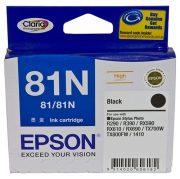 EPSON 81N BLACK INK CARTRIDGE