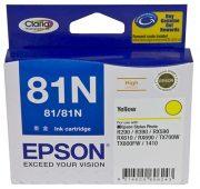 EPSON 81N YELLOW INK CARTRIDGE