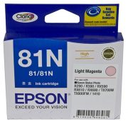 EPSON 81N LIGHT MAGENTA INK CARTRIDGE