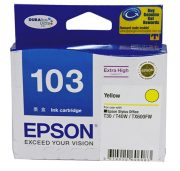 EPSON 103 YELLOW INK CARTRIDGE