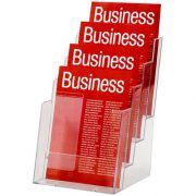 ESSELTE BROCHURE HOLDER A5 4 TIER