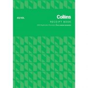 COLLINS RECEIPT BOOK A5/4 DL NCR