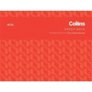COLLINS ORDER BOOK 45DL NCR
