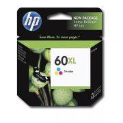 HP 60XL TRI COLOUR CC644WA INK CARTRIDGE