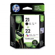HP 21 & 22 TWIN PACK CC630AA INK CARTRIDGE