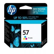HP 57 TRI COLOUR C6657A INK CARTRIDGE