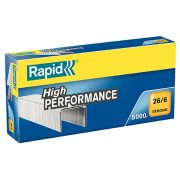 RAPID 26/6 STRONG STAPLES 5000PK