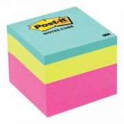 3M POST IT NOTES 2051 48X48MM PINK WAVE CUBE