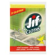 JIF BALLERINA HEAVY DUTY CLOTH YELLOW 2PK