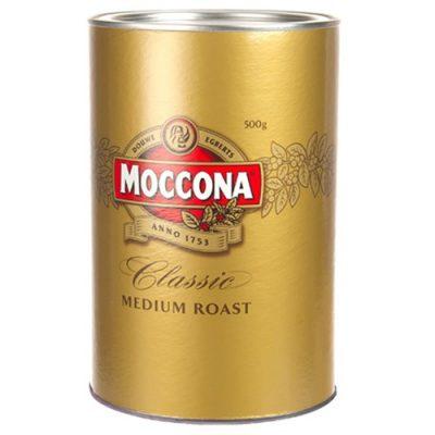 MOCCONA CLASSIC MEDIUM INSTANT COFFEE 500G