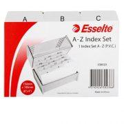 ESSELTE SYSTEM CARD INDICE A-Z 6X4 GREY