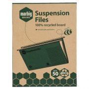 MARBIG SUSPENSION FILES BOX 50