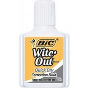 BIC QUICK DRY CORRECTION FLUID 20ML