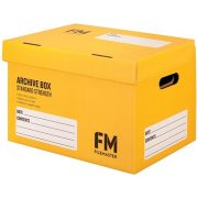 FM ARCHIVE BOX NO:1 YELLOW