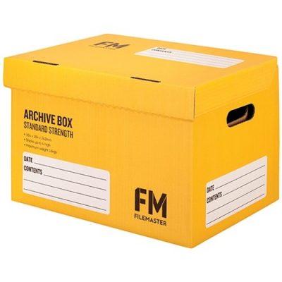 FM ARCHIVE BOX NO:1 YELLOW
