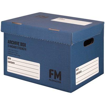 FM ARCHIVE BOX NO:1 BLUE