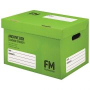 FM ARCHIVE BOX NO:1 GREEN