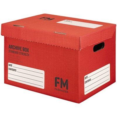 FM ARCHIVE BOX NO:1 RED