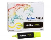 ARTLINE VIVIX HIGHLIGHTER YELLOW BOX 10