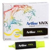 ARTLINE VIVIX HIGHLIGHTER YELLOW BOX 10