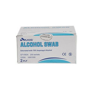 ALCOHOL WIPES PACK 20