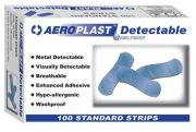 BLUE DETECTABLE PLASTERS PACK 100