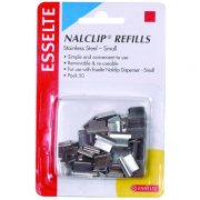 ESSELTE NALCLIP REFILL SMALL PK50