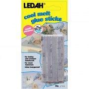 LEDAH COOL MELT GLUE STICKS CLEAR 14 PACK