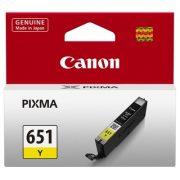 CANON CLI651 YELLOW INK CARTRIDGE