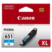 CANON CLI651XL CYAN HIGH YEILD INK CARTRIDGE