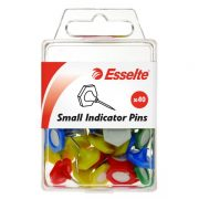 ESSELTE INDICATOR PINS SMALL 40 PACK