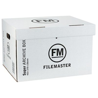 FM ARCHIVE JUMBO BOX 423X370X286 WHITE