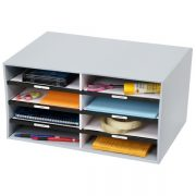 MARBIG SORT N STORE GREY 8 COMPARTMENT