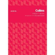 COLLINS CREDIT BOOK A5/50DL NCR