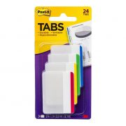 3M POST IT DURABLE TABS 686 38X50MM ASSORTED 24PK