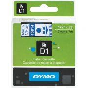 DYMO D1 12MM 45014 BLUE ON WHITE LABEL TAPE