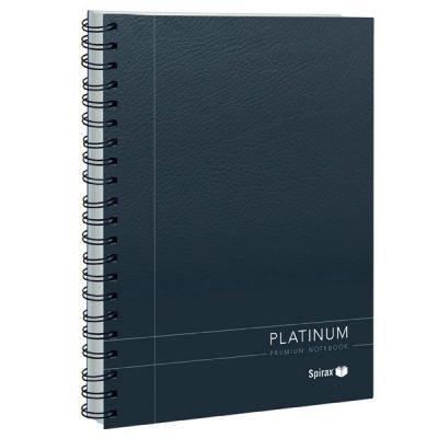 SPIRAX 401 PLATINUM NOTEBOOK A5 200 PAGE BLACK