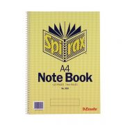 SPIRAX 595 NOTEBOOK A4 120 PAGE