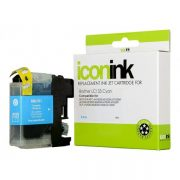 BROTHER COMPATIBLE LC133 INK CARTRIDGE CYAN