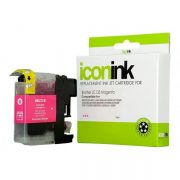 BROTHER COMPATIBLE LC133 INK CARTRIDGE MAGENTA