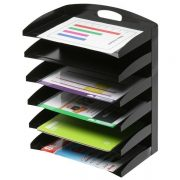 MARBIG METAL ORGANISER 6 TIER CURVED
