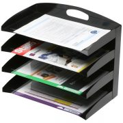 MARBIG METAL ORGANISER 4 TIER CURVED