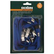 DIXON LANYARD FLAT BLUE PACK 10