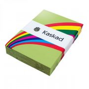 KASKAD COLOURED PAPER A4 80GSM PARAKEET GREEN 500PK