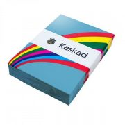 KASKAD COLOURED CARD A4 160GSM PEACOCK BLUE 250PK