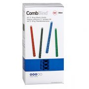 GBC BINDING COILS 14MM BLUE 100PK