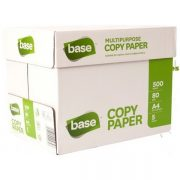 BASE COPY PAPER A4 80GSM WHITE BOX