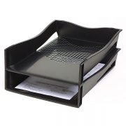 MARBIG ENVIRO DOCUMENT TRAY PORTRAIT BLACK